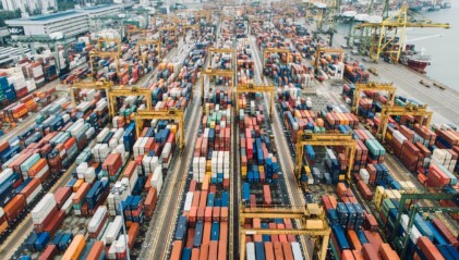 IOSS Fernverkauf Containerhafen