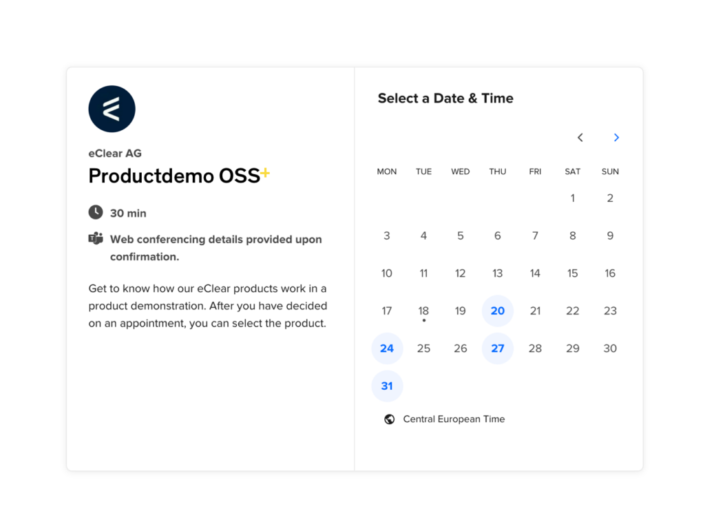 Book Product Demo OSS+