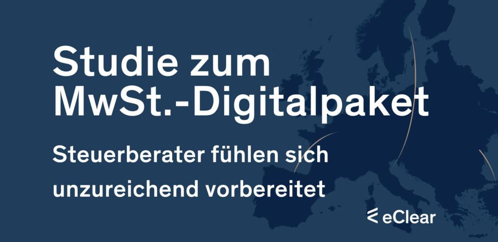Studie zum MwSt.-Digitalpaket