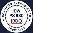 IDWPS Certified Logo